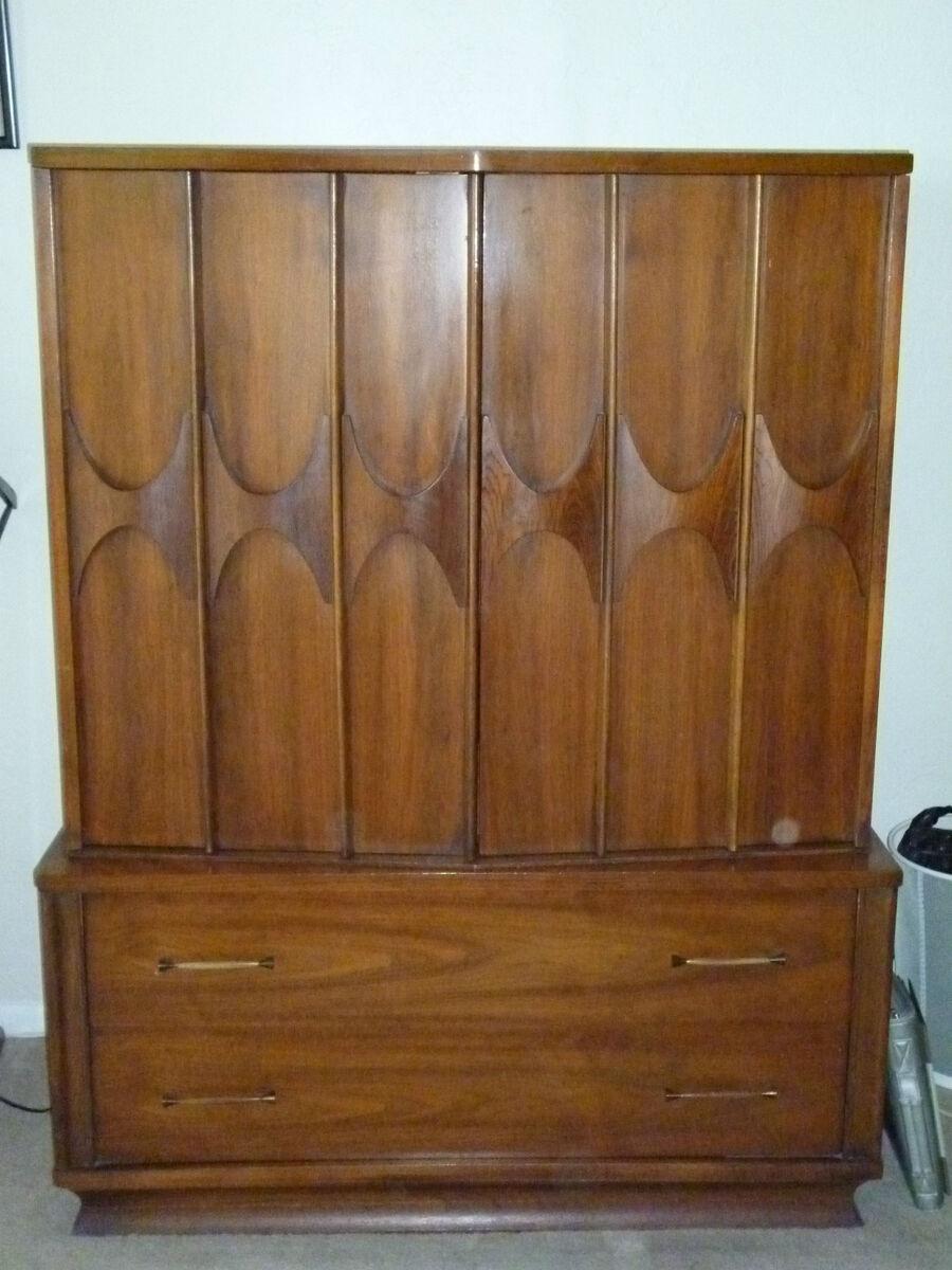 Kent Coffey Mid Century Modern Danish Rosewood Walnut Bedroom