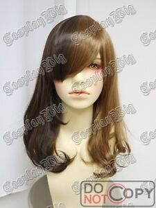 KERA-GAL-GYARU-45cm-long-2-DIFF-BROWN-Japanese-FASHION-WIG
