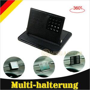 KFZ-Anti-Rutsch-Matte-Auto-Handy-Halterung-Handyhalter-Navi-GPS-Winkelhalter