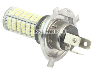 kfz h4 102 smd led birne licht auto lampe wei 12 volt ebay. Black Bedroom Furniture Sets. Home Design Ideas
