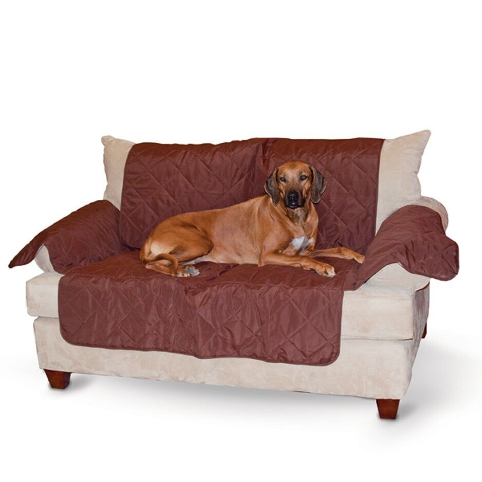 Kh Mfg Quilted Dog Cat Hair Dirt Furniture Couch Sofa Protector Cover Kh7826 Ebay