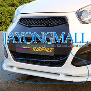 KIA All new 2011 PICANTO Aero Parts Front Lip Bumper