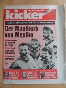 KICKER-103-22-12-1993-Vorschau-Mexiko-Uli-Stielicke-Ski-Alpin-Eishockey