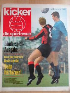 KICKER-13-28-3-1967-Pokal-VF-Schalke-Bayern-2-3-Deutschland-Bulgarien-1-0