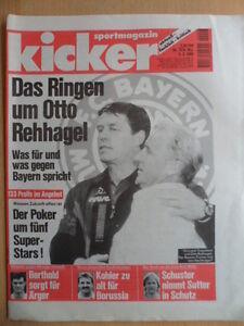 KICKER-13-9-2-1995-Rehhagel-Trapattoni-Sutter-Regionalliga-Boxen-Bob-WM