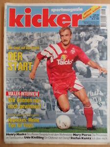 KICKER-16-20-2-1995-Voeller-1860-Dortmund-1-5-Bochum-Bayern-1-2-Mary-Pierce