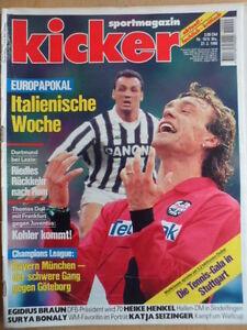 KICKER-18-27-2-1995-Doll-Uerdingen-HSV-4-1-KSC-Gladbach-2-4-Surya-Bonaly