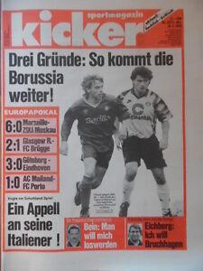 KICKER-23-18-3-1993-Marseille-ZSKA-Moskau-6-0-Glasgow-Rangers-FC-Bruegge-2-1