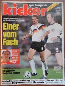 KICKER-24-20-3-1989-Holger-Fach-Gladbach-Dortmund-1-1-Armin-Bittner-Formel-1