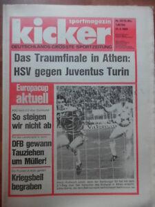 KICKER-33-21-4-1983-HSV-Real-San-Sebastian-2-1-Koeln-Leverkusen-4-1-KSC-BVB-2-0