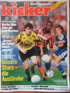 KICKER-4-11-1-1993-Rangliste-Wuttke-Armin-Bittner-Johann-Muehleck-Surya-Bonaly