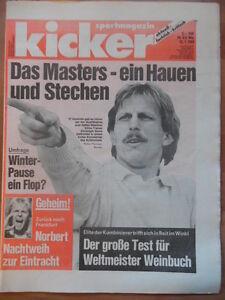 KICKER-5-12-1-1989-Christoph-Daum-Hallenfussball-Karlsruher-SC-Eishockey-Ski