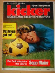 KICKER-64-11-8-1975-Sepp-Maier-1-Spieltag-HSV-Schalke-4-1-Hertha-Koeln-2-1