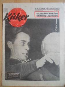 KICKER-8-25-2-1957-Fredy-Kelbassa-Offenbach-Frankfurt-2-2-MSV-Duisburger-SpV-1-2