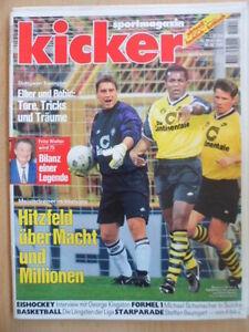 KICKER-88-30-10-1995-Schalke-Dortmund-1-2-Bayern-Stuttgart-5-3-S-Baumgart