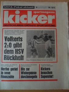 KICKER-95-27-11-1975-Hamburger-SV-FC-Porto-2-0-Horst-Bertl-FC-Bayern
