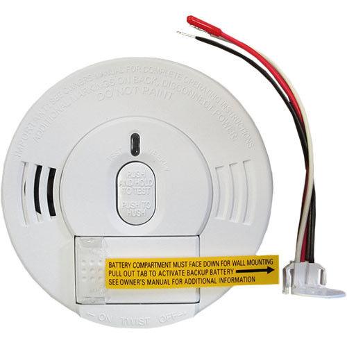 Kidde I12060 21005927 Smoke Alarm 120v Ac Dc Hush Spring