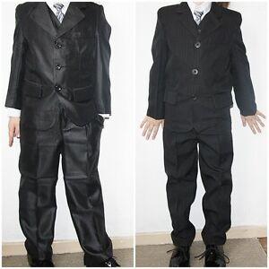 kinder hosenanzug 5 teilig weste blazer hemd krawatte und. Black Bedroom Furniture Sets. Home Design Ideas