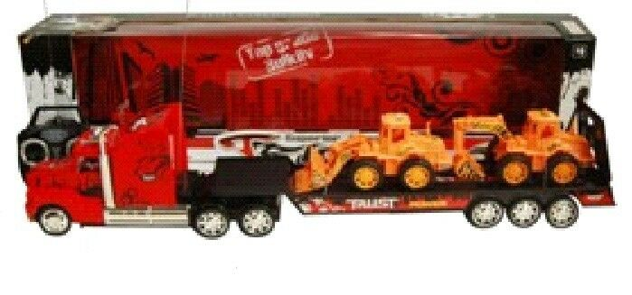 Remote Control Tractor Trailer Trucks : King hauler speed truck rc remote control transporter