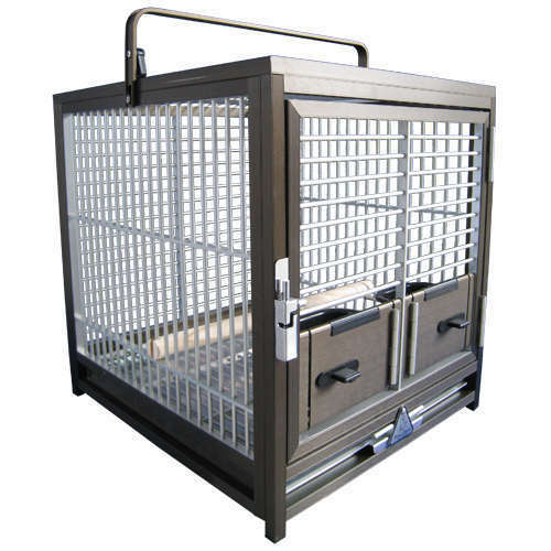 KINGS CAGES ALUMINUM PARROT TRAVEL CAGE ATS1719 bird cages in Pet Supplies, Bird Supplies, Cages | eBay