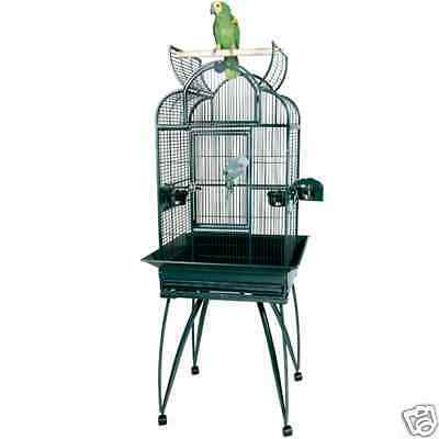 KINGS CAGES SLT42217 PARROT CAGE 22x17x63 bird toy toys playtop conure cockatiel in Pet Supplies, Bird Supplies, Cages | eBay