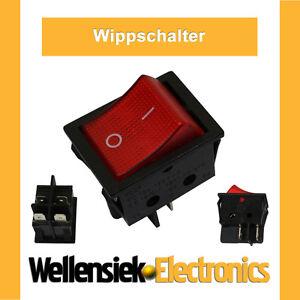 KIPPSCHALTER-Schalter-WIPPSCHALTER-MIT-Beleuchtung-von-230V-bis-250V-16A