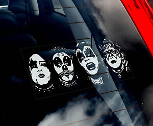 KISS-Car-Window-Sticker-Metal-Rock-Gene-Simmons-Sign