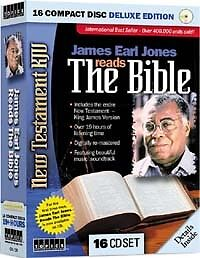 KJV James Earl Jones READS the Holy Bible 16 AUDIO CDs in Books, Audiobooks | eBay