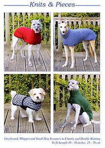 Dog Coat Knitting Pattern | eBay