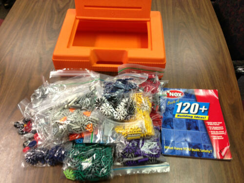 K'Nex lot (over 1200 pieces) with case and project book - NR in Toys & Hobbies, Building Toys, K'NEX | eBay