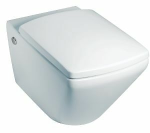 KOHLER ESCALE WALL HUNG WC TOILET SOFT CLOSE SEAT VITREOUS CHINA 19045W RRP