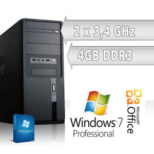 KOMPLETT-PC-System-AMD-AM3-Dual-Core-2x3-4-GHz-4GB-Windows-7-64BIT-Voll