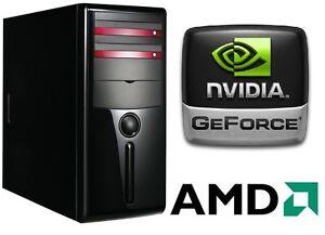 KOMPLETT-PC-System-Windows-AMD-Athlon-X2-250-2x3-0GHz-4GB-RAM-LAN-160GB-COMPUTER