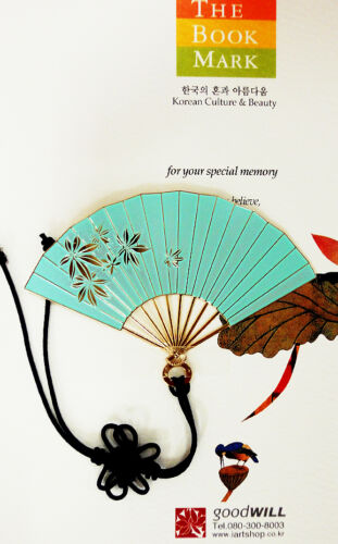 KOREAN TRADITIONAL BOOKMARK / 21 Fan pattern in Books, Accessories, Bookmarks | eBay