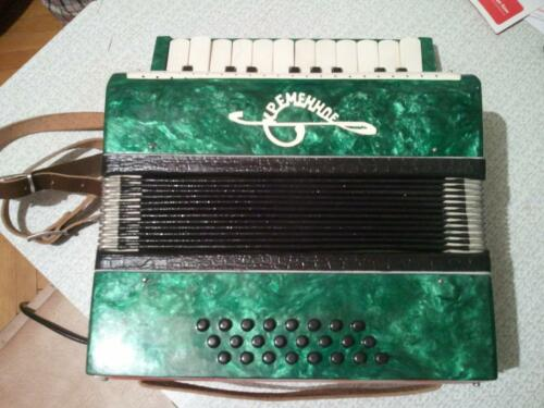 KREMINNE RARE VINTAGE RUSSIAN USSR CHILD KIDS MINI ACCORDION EXCELLENT CONDITION in Musical Instruments & Gear, Accordion & Concertina   eBay