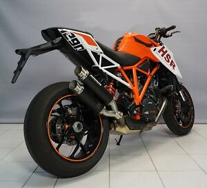 ktm super duke 1290 r modell 2014 bodis auspuff gpx 2 s. Black Bedroom Furniture Sets. Home Design Ideas