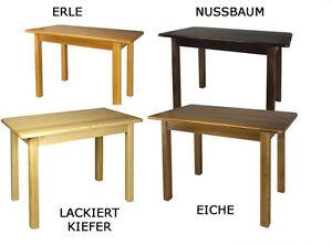 k chentisch kiefer tisch esstisch massiv neu ebay. Black Bedroom Furniture Sets. Home Design Ideas