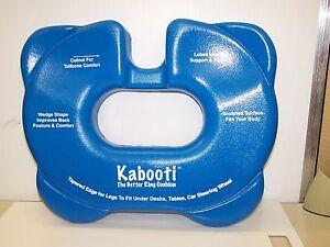 Kabooti Comfort Ring Cushion Donut Tailbone Coccyx Cutout
