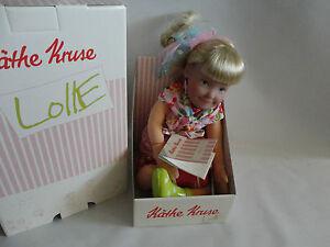 Käthe Kruse Puppe Lolle Cerise ca.54 cm. Stoffpuppe - <span itemprop='availableAtOrFrom'>Esslingen, Deutschland</span> - Käthe Kruse Puppe Lolle Cerise ca.54 cm. Stoffpuppe - Esslingen, Deutschland