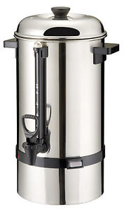 kaffeemaschine kaffeebereiter inhalt 12 liter ca 80 tassen in 45 minuten gastro ebay. Black Bedroom Furniture Sets. Home Design Ideas