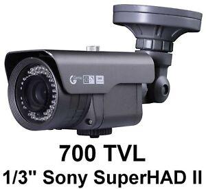 kamera berwachungskamera 1 3 sony superhad ii 700 tvl ebay. Black Bedroom Furniture Sets. Home Design Ideas