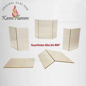kaminglas feuerfestes glas ofenglas kamin kaminscheibe auf ma angaben in cm ebay. Black Bedroom Furniture Sets. Home Design Ideas