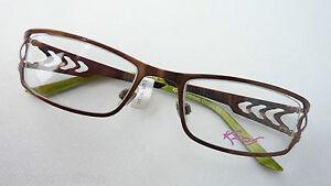 Kaos-Markenfassung-Damenbrille-Metall-Akzentbuegel-kupferbraun-occhiali-GR-M-TOP