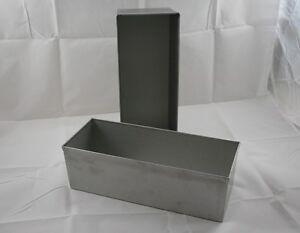 kastenform brotbackform edelstahl premium dichtform1 5 kg ebay. Black Bedroom Furniture Sets. Home Design Ideas