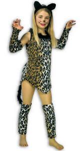 Katze-Schnurrli-Kaetzchen-Tiger-Kinder-Karneval-Kostuem-128-164