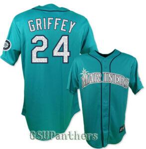 Ken Griffey Jr 1995 Seattle Mariners Teal Cooperstown ...