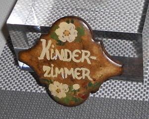 Keramik-Schild-Tuerschild-baeuerlich-bemalt-KINDERZIMMER