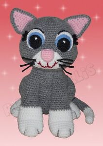 kessy die katze haekelanleitung haekeln anleitung gehaekelt amigurumi. Black Bedroom Furniture Sets. Home Design Ideas