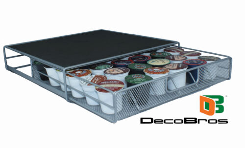 Keurig K-cup Storage Drawer Coffee Holder for 36 Kcup Pods by DecoBros in Home & Garden, Kitchen, Dining & Bar, Kitchen Storage & Organization | eBay