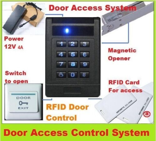 Keyless card Door Access Control SYSTEM #4 login LOCK 125K Keypad entry in Consumer Electronics, Gadgets & Other Electronics, Other | eBay